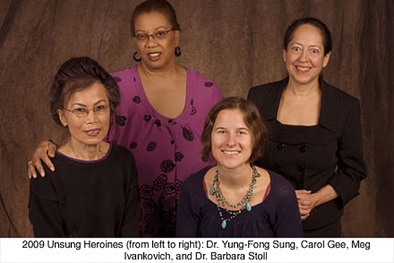 The 2009 Unsung Heroines